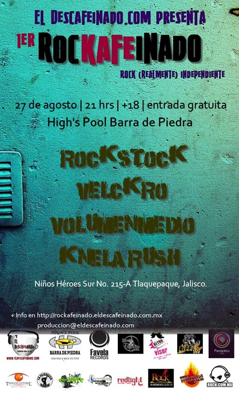 1er Rockafeinado, rock (realmente) independiente