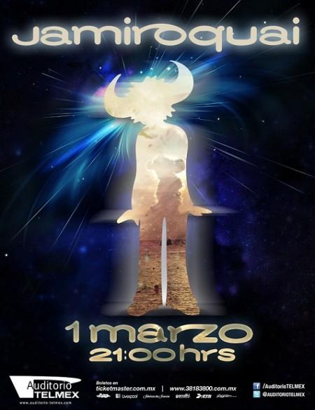 Jamiroquai Auditorio Telmex 2013