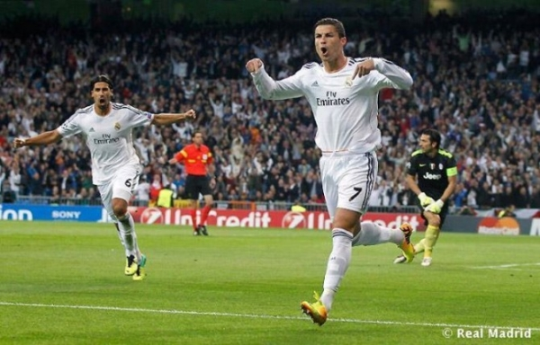 Foto: Real Madrid contra la Juventus en 2013