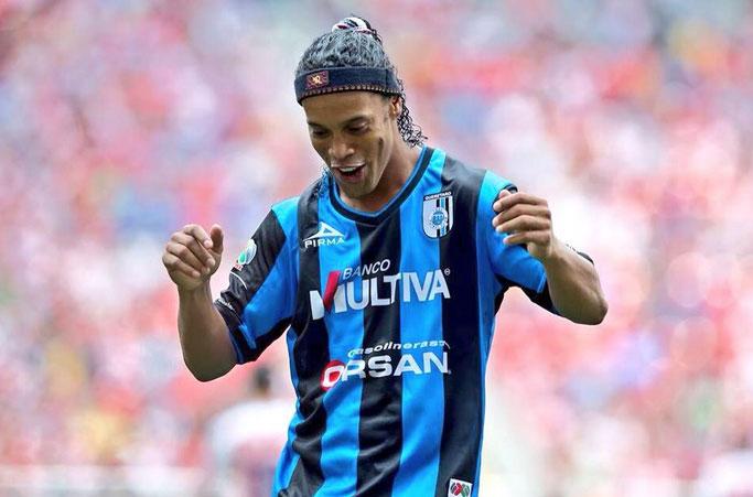 La aventura de Ronaldinho, en el laberinto mexicano