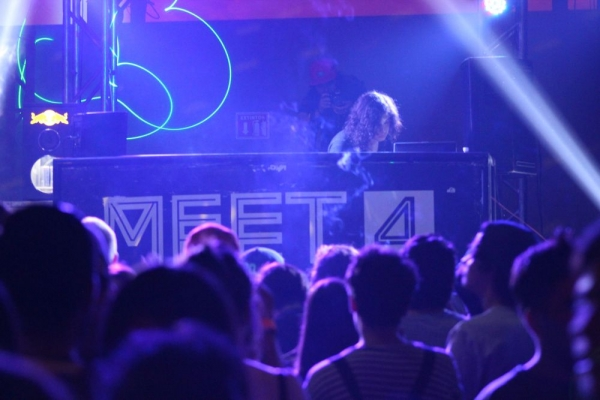 Facy Sedated fue una de las sorpresas de la noche para los asistentes. Foto: Óscar Castro / ¡Diga? Agency.