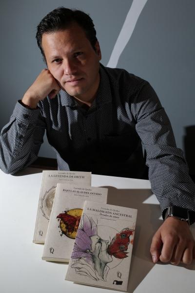 Juan Comparán Arias, autor de Leyendas de Quidea